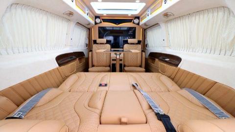 2019款奔驰V260L商务车 尽享安心舒适之旅