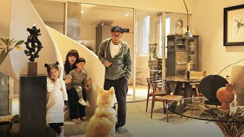 北京一家四口住260㎡厂房,去卧室要坐电梯,一不开心就换古董家具