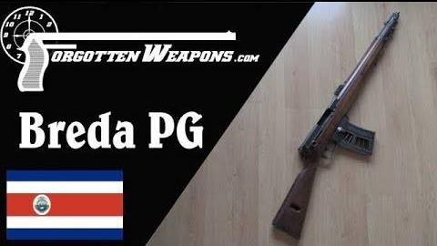 【被遗忘的武器/双语】布雷达PG —— 史上第一款点射自动步枪
