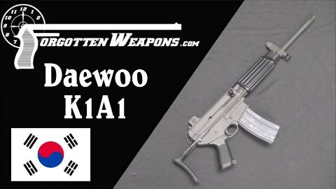【被遗忘的武器/双语】韩国大宇K1A1 -  AR-15与AR-18的混血儿