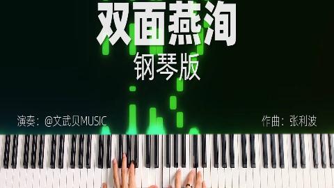 双面燕洵-文武贝钢琴版