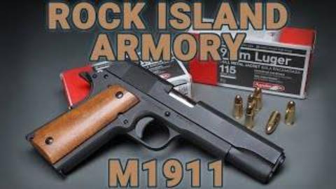 [GUNSCOM]岩石岛兵工M1911手枪