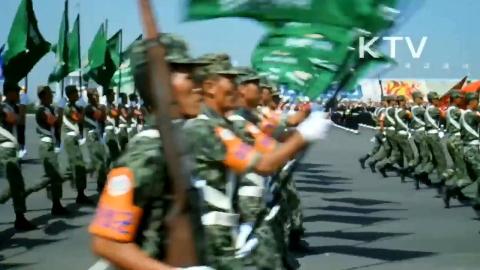 各国阅兵揭秘-亚洲14个国家阅兵剪辑