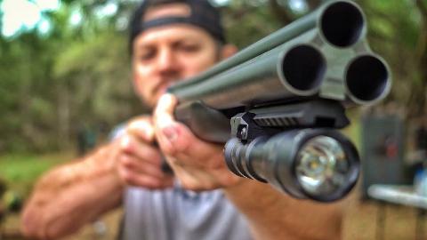 【爆破农场】你没见过的三管霰弹枪 中文字幕