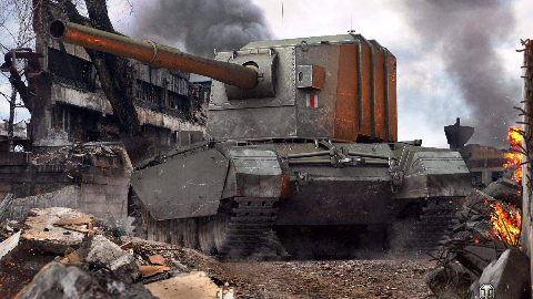 [坦克世界]Y系喷子 FV4005极地冰原1万5极限伤害