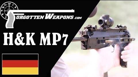 【被遗忘的武器/双语】MP7A1靶场试射