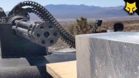 [FullMag]20mm火神炮 vs 弹道凝胶