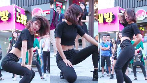 韩国饭拍女团,《Havana》Kpop舞蹈