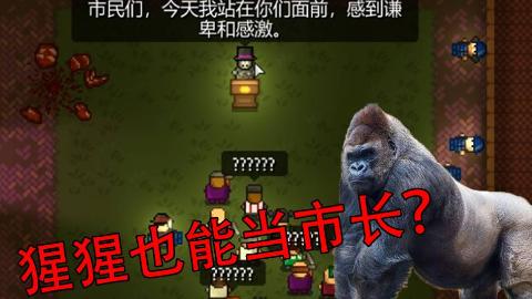 【地痞街区】猩猩也能当市长?