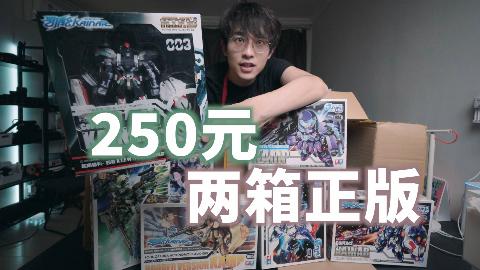 #玩模time#国产原创拼装机甲250元就能捡回来九盒!