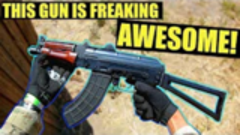 【wargame】美国玩家沙漠狐_ Bolt AKSU74倍儿棒