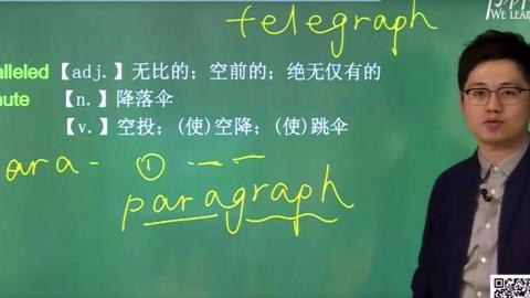 2020考研英语朱伟恋恋有词
