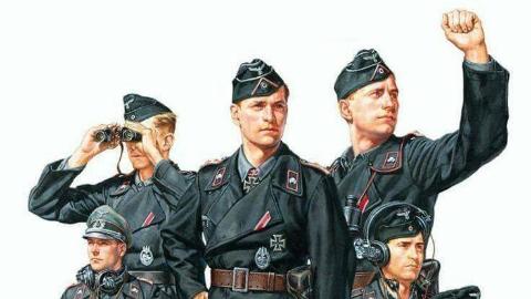 【制服诱惑】二战德国装甲兵制服介绍(1)