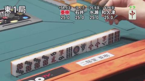 [日麻]「神配牌」起手就是一套暗杠+一对dora,没sei了~