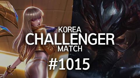 韩服最强王者的精英对决 #1015 |  欢迎收看,我比韩服王者强系列