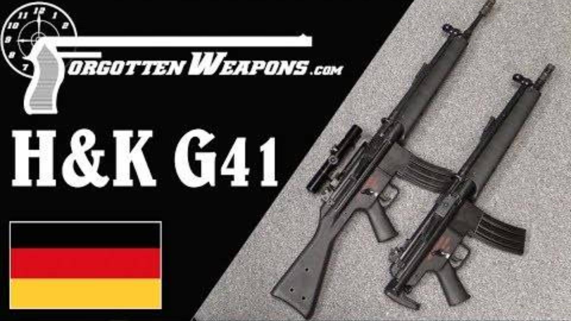 【被遗忘的武器/双语】HK33/M16融合怪--G41突击步枪彻底剖析