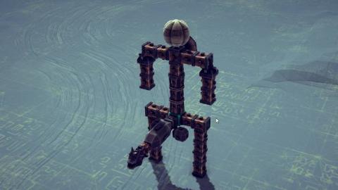 [Besiege]虚空来袭机器人
