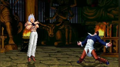 拳皇mugen:生存之战,大蛇只闯过2关就被神级对手终结了