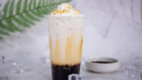 奈雪の茶黑糖宝藏茶的做法——小兔奔跑奶茶教程