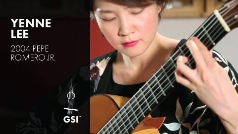 如落叶般静美 古典吉他曲【Autumn Leaves(秋叶)】Play by Yenne Lee