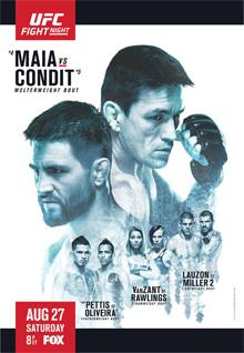 UFC ON FOX 21主赛全程-全场