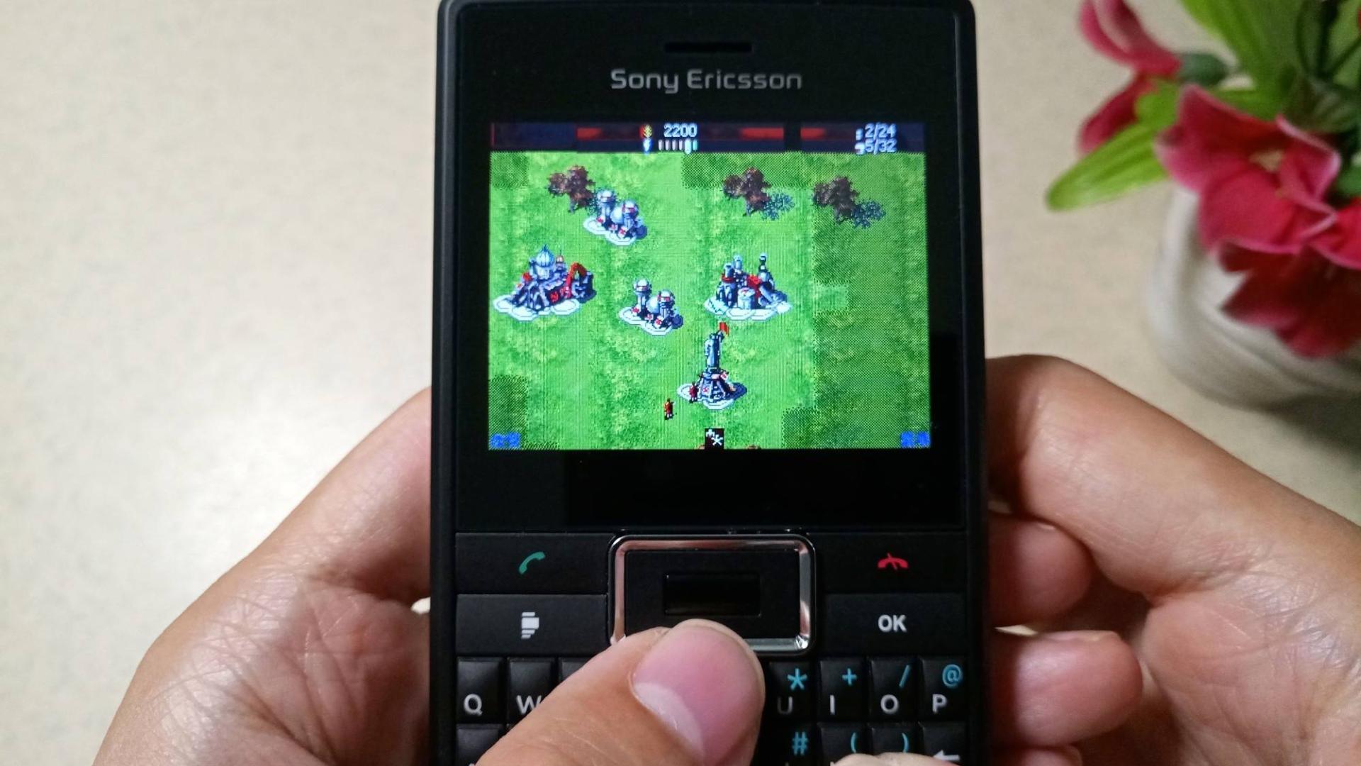 经典JAVA手机游戏《红警》,才700KB,即时战略类很好玩