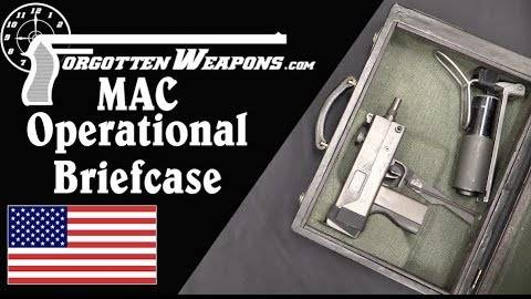 【被遗忘的武器/双语】MAC10公文包枪结构分析