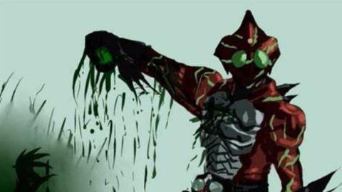[假面骑士Amazons] 仁叔的初次变身击杀!痞帅痞帅的样子真迷人