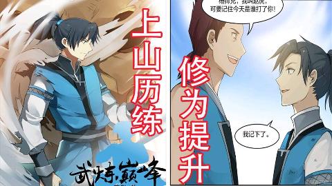 【漫画/武炼巅峰】男主上山历练帮助人!修为竟然这样提升?