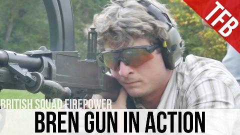 【火器博客/双语】英国班用火力 —— 布伦轻机枪