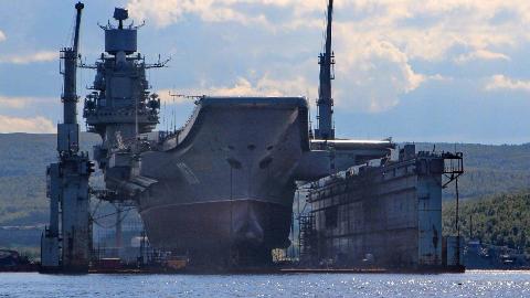 俄罗斯核航母计划曝光!俄造船厂暴露最大短板,重要设备中国制造