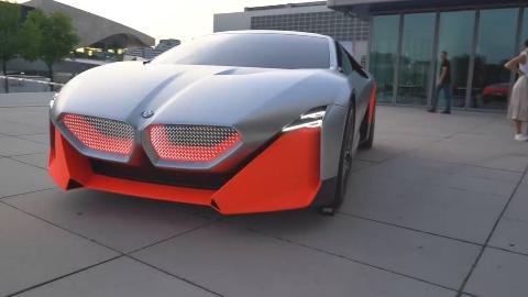 新宝马视觉M Next  世界上第一次驾驶