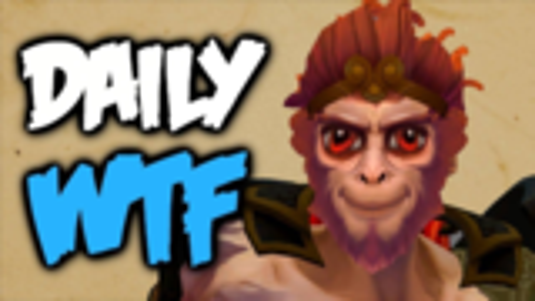 Dota 2 Daily WTF - Pillar Monkey