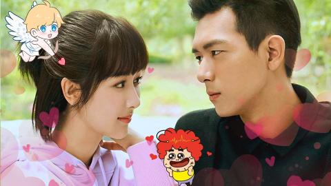 《亲爱的》杨紫一见钟情男神,完美演绎心动的感jiao