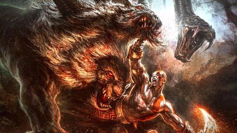 【黑笔】《战神3:重置版》混沌难度无伤攻略第三期