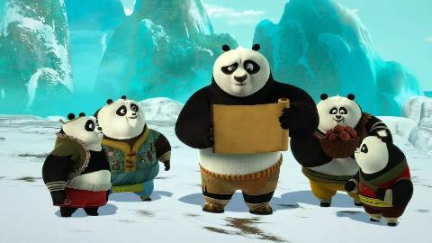 【功夫熊猫:命运之爪】第1季 08 中英字幕 2018 720P【FIX字幕侠】
