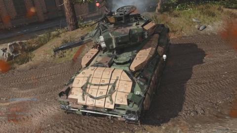 使命召唤16:现代战争 多人模式馒头试玩实况 战车威力强大!