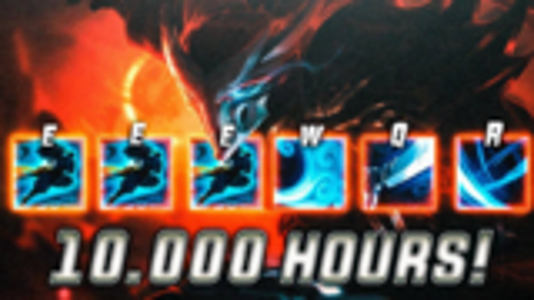 亚索蒙太奇 10000小时亚索玩家精彩操作集锦 - LOL英雄联盟
