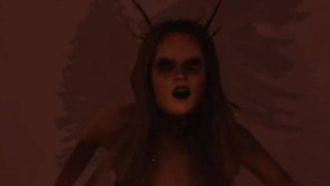 【Q君】裸女+摸黑+走路模拟器的恐怖游戏