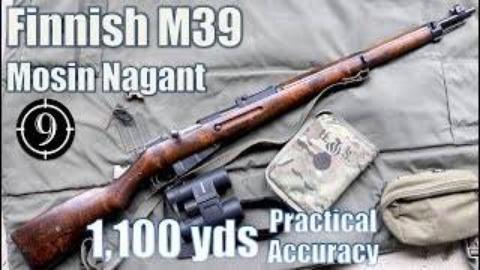 [9-Hole Reviews]M39莫辛纳甘铁质瞄具1100码射击挑战