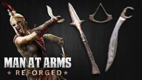 武器人间:重铸—弯刀&矛(刺客信条:奥德赛)MAN AT ARMS: REFORGED【中文字幕】