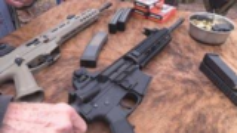 [hickok45]CZ蝎式EVO vs 9mmAR15