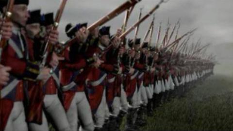 帝国时代3原版战役:献血、寒冰与钢铁