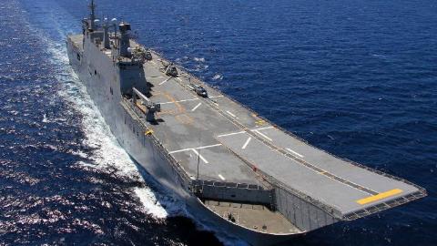 """中国能造我也能!土耳其在建航母""""火""""了,装F35战力堪比辽宁舰"""