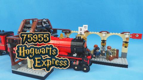 乐高定格动画:哈利波特坐上霍格沃茨特快火车,他会遇上什么呢?