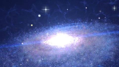 AE简单粒子特效制作,星辰大海