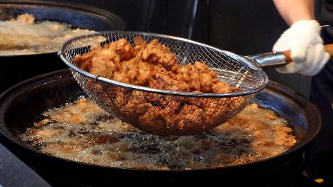 【韩国街头美食】- 韩国炸鸡
