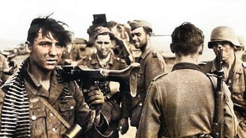 一名阵亡德军在斯大林格勒的日记