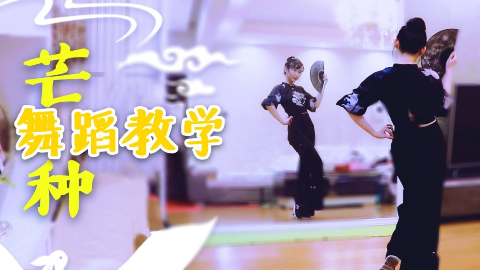 【紫嘉儿】芒种✿舞蹈教学✿动作分解教程[原创编舞]