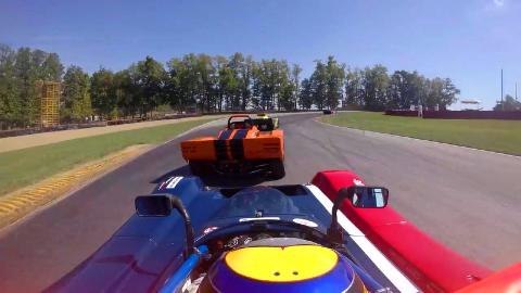 方程式赛车速度测试